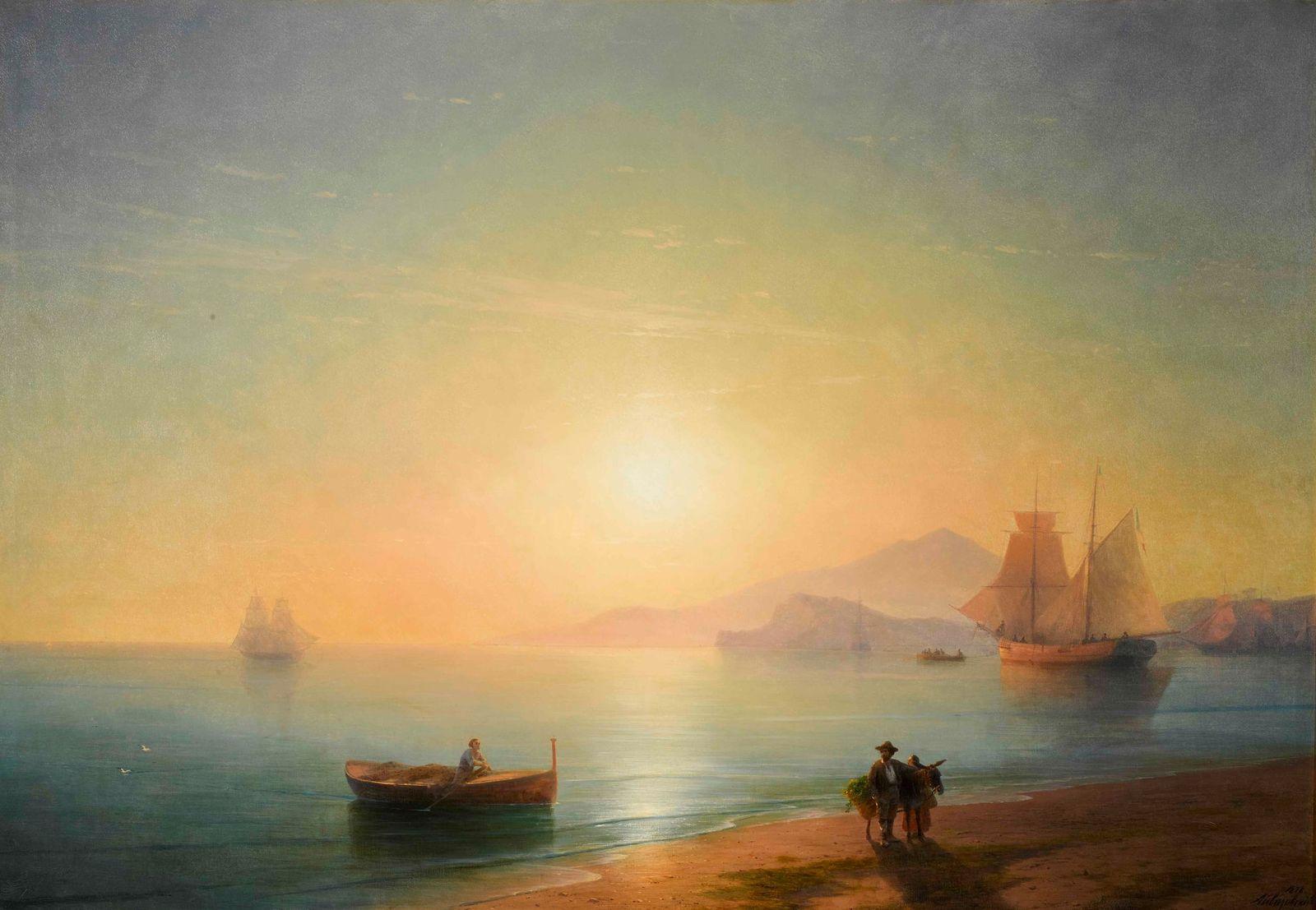 Ivan Aivazovsky a 2,3 milioni. Record per un dipinto venduto online da Sotheby's