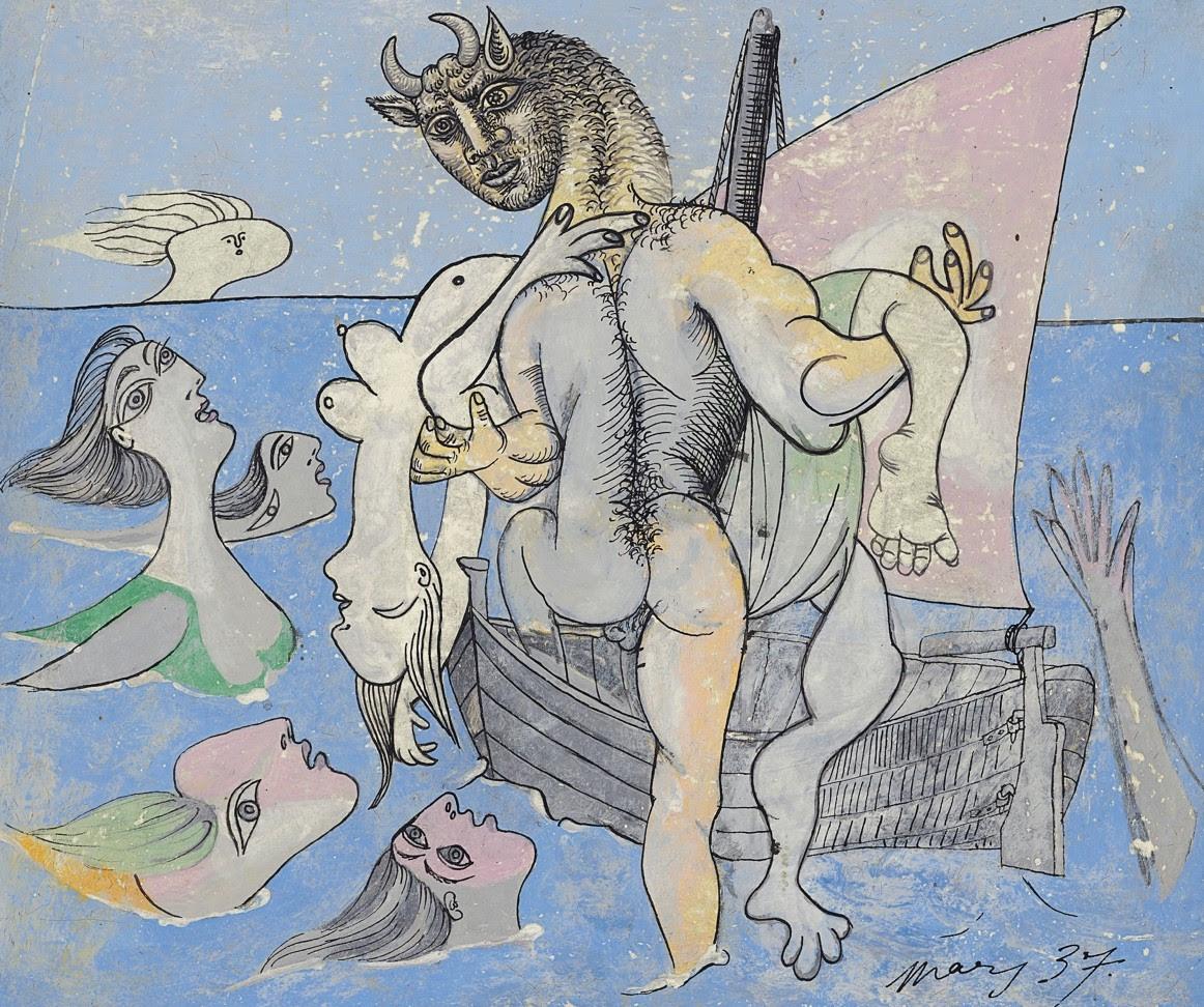 Il minotauro e le Sirene. L'alter ego mitologico di Picasso in asta da Christie's