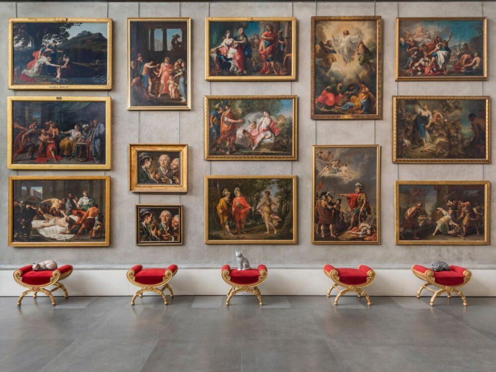 Allestimento mostra Fornasetti (photo Cosimo Filippini)