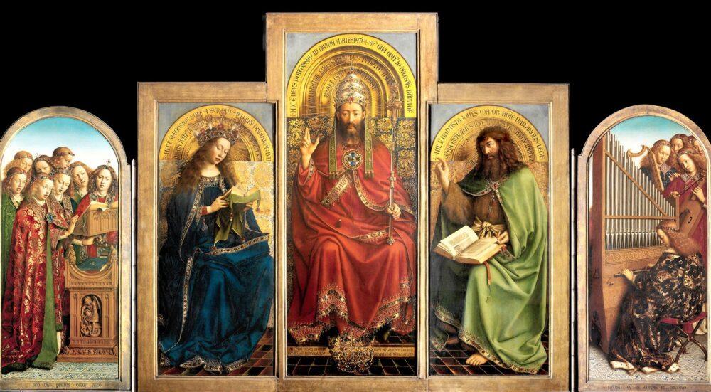 Polittico dell'Agnello Mistico di Van Eyck