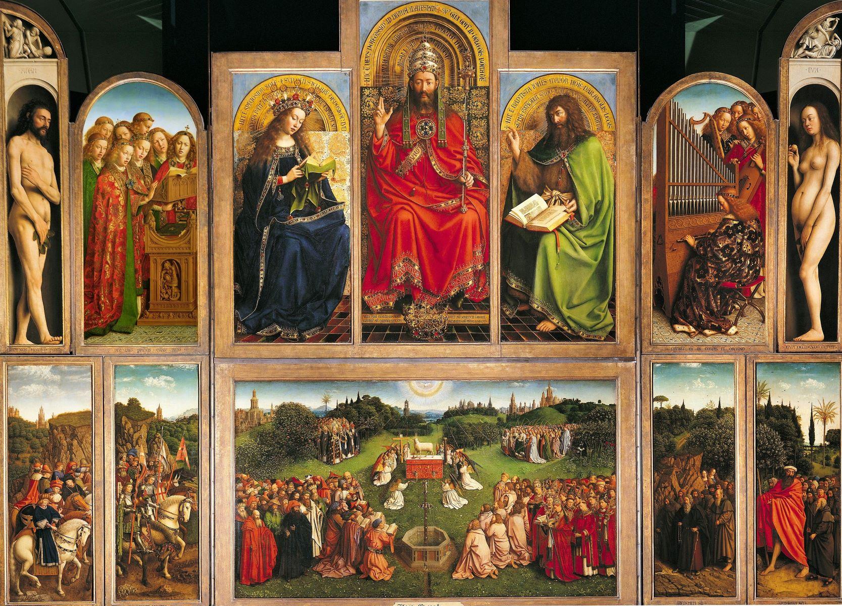 Polittico dell'Agnello Mistico: in esclusiva il documentario di ARTE dedicato al capolavoro dei van Eyck