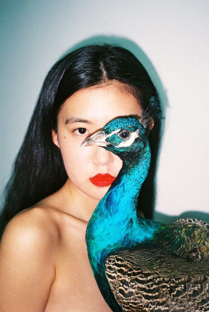 Ren Hang Peacock