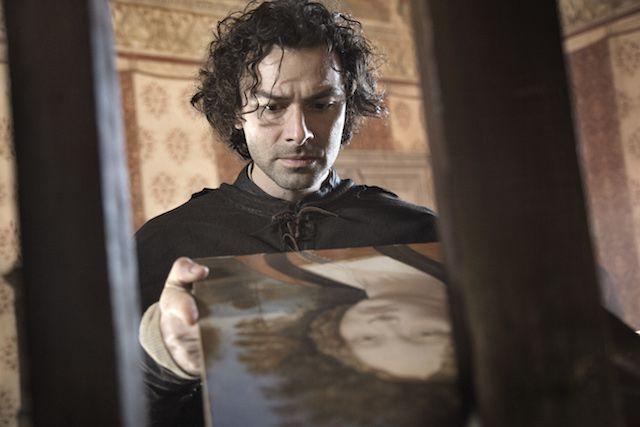 Aidan Turner interpreta Leonardo. Foto Angelo Turettajpg
