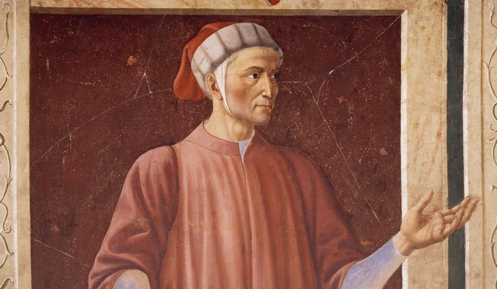 Andrea del Castagno, Dante (particolare)