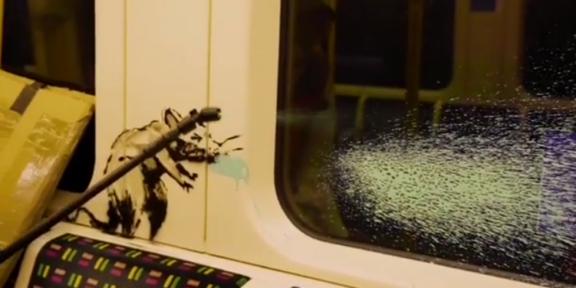 ratti di Banksy