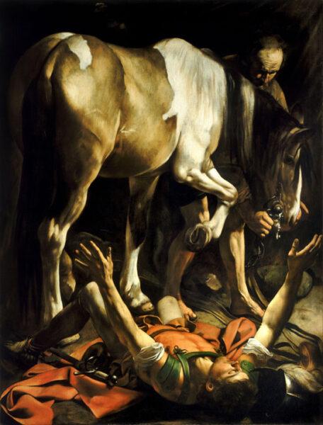 Caravaggio, Conversione di San Paolo, 1601