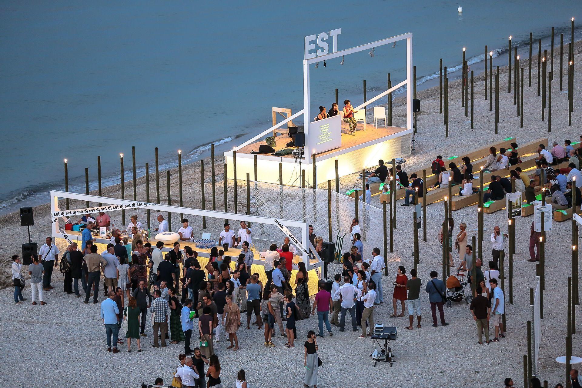 Demanio Marittimo versione COVID. Ecco come sarà la notte dell'architettura, design, arte, food
