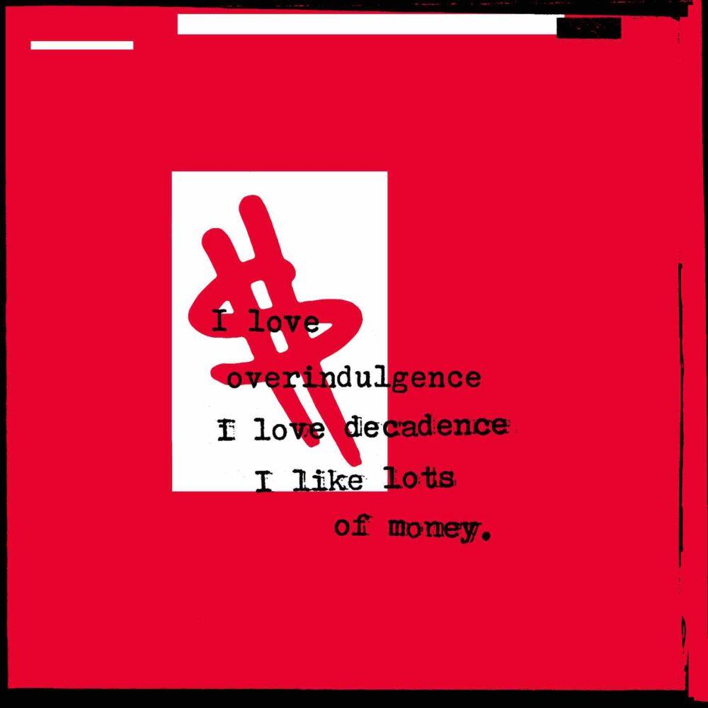 I Love Money - Serigrafia e acrilico su tela - cm 60 X 60 - 2012