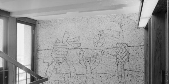 Il murale The Seagull di Picasso, a Oslo