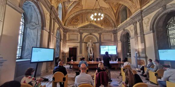 La conferenza stampa di presentazione della Quadriennale di Roma