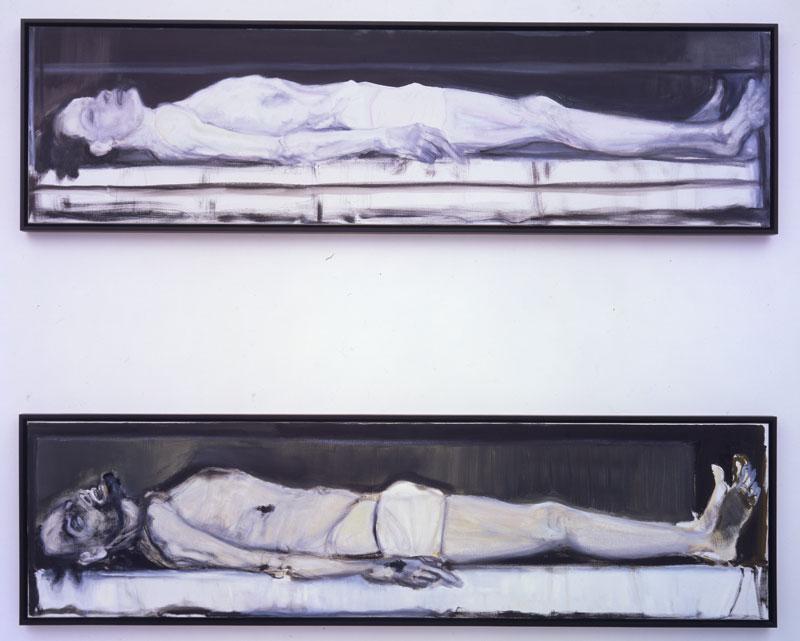 MD-Gelijkenis_I&II-2002-1 Marlene Dumas, Gelijkenis I & II, 2002 Pinault Collection
