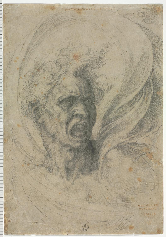 Michelangelo, Il dannato