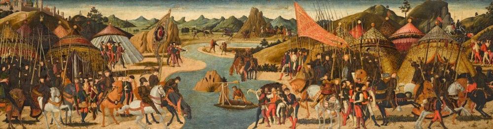 Paolo Uccello, Battaglia sulle rive di un fiume