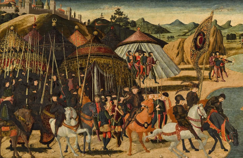 Una rara battaglia di Paolo Uccello in asta da Sotheby's Londra