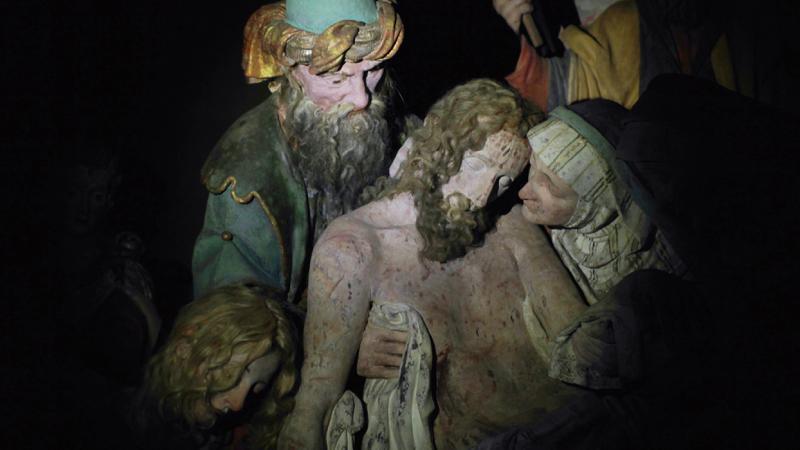 Sacro Monte di Varallo, Dentro Caravaggio