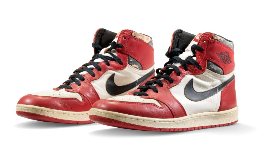 Original Air. Le scarpe di Michael Jordan all'asta da Christie's