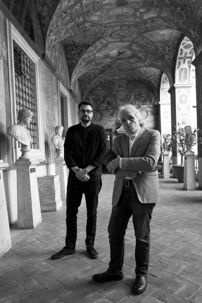 Abel Ferrara e Gabriele Tinti al Romano di Palazzo Altemps