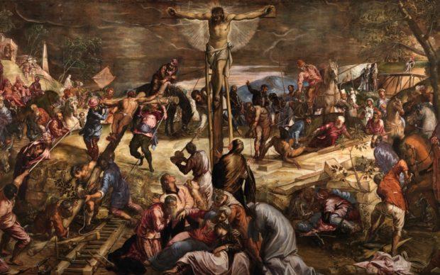 Tintoretto, Crocifissione, Scuola Grande di San Rocco, Venezia, 1565