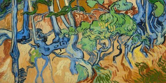 Vincent van Gogh, Tree Roots (1890), Courtesy Van Gogh Museum, Amsterdam (Vincent van Gogh Foundation)