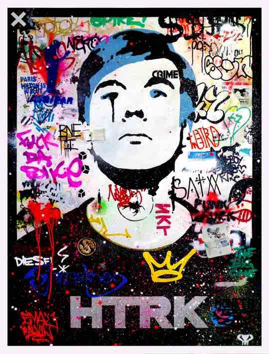 ANDY POP - Mixed media su tela - cm 150 X 110 - 2009 - Collezione Privata