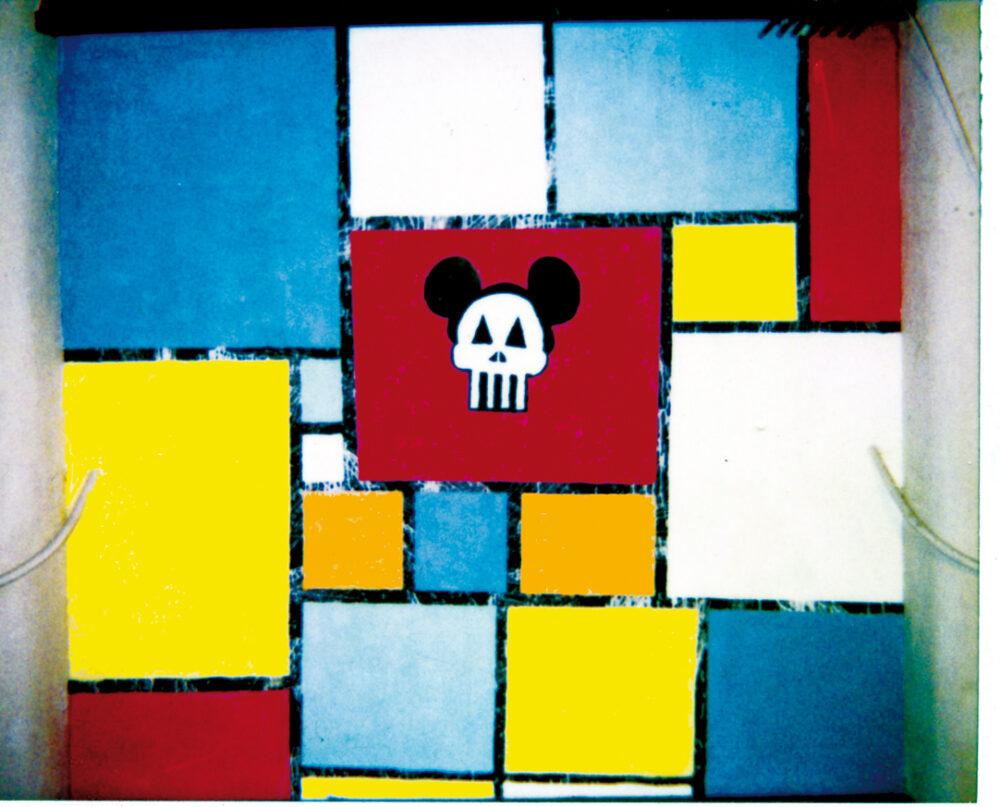 Mondrian Is Dead - Pittura Murale, Teatro dell'Arte Triennale - Milano 1984