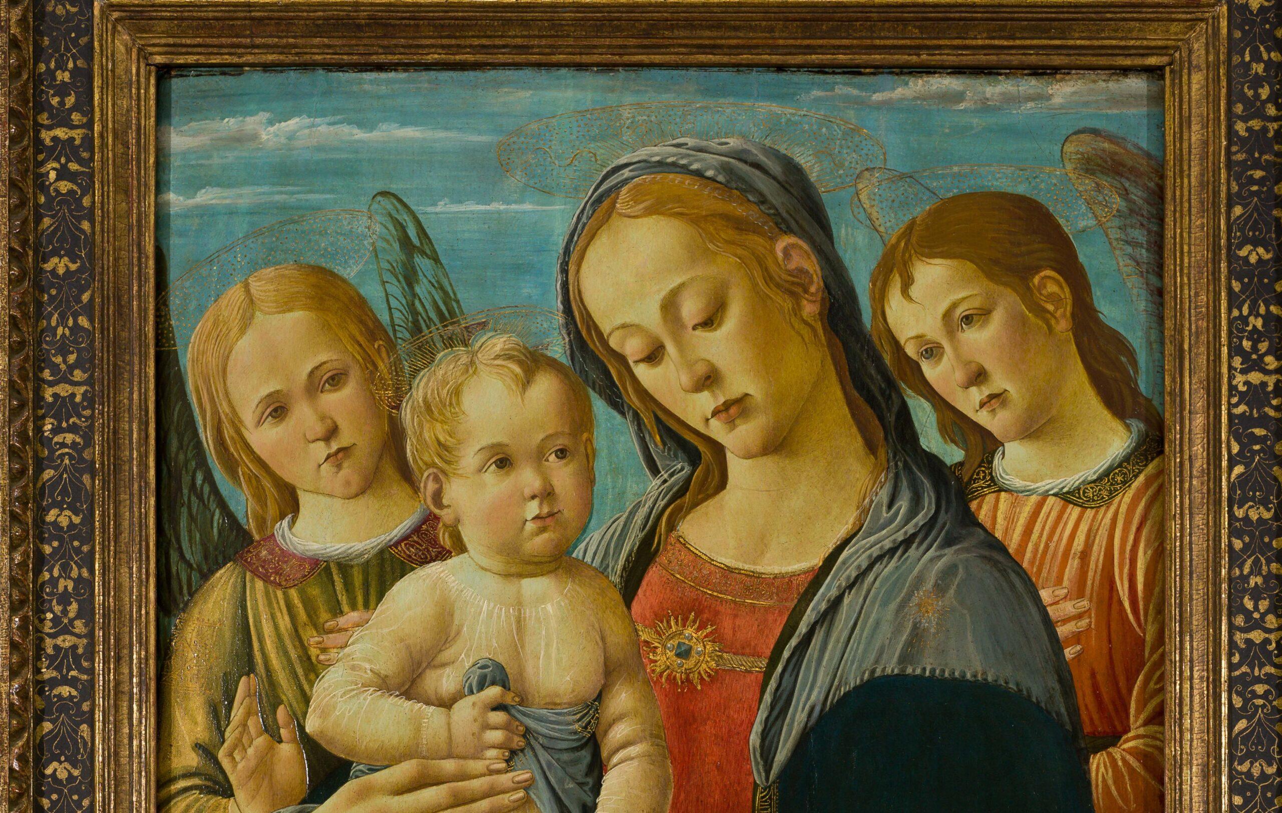 """Un meraviglioso dipinto """"perduto"""" di Jacopo del Sellaio ritrovato ed esposto al Castello di Rivoli"""