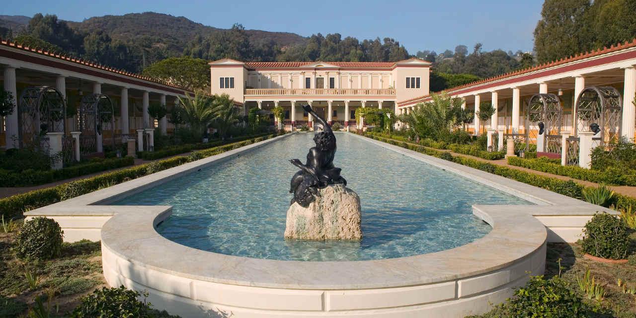 Visita virtuale alla Getty Villa, che ospita oltre 44 mila opere di arte antica