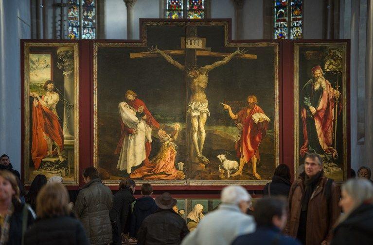 Altaredi Isenheim: al Museo Unterlinden, il restauro di un capolavoro sotto gli occhi del pubblico