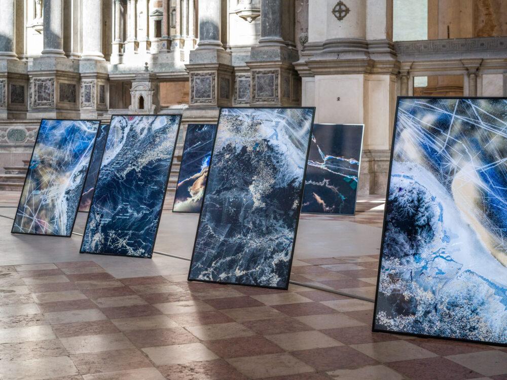 Territorial Agency_ Oceans in Transformation. Ocean Space, Chiesa di San Lorenzo, Venezia 2020. Ph. Enrico Fiorese