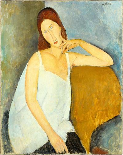 Amedeo Modigliani, Ritratto di Jeanne Hébuterne (1919)