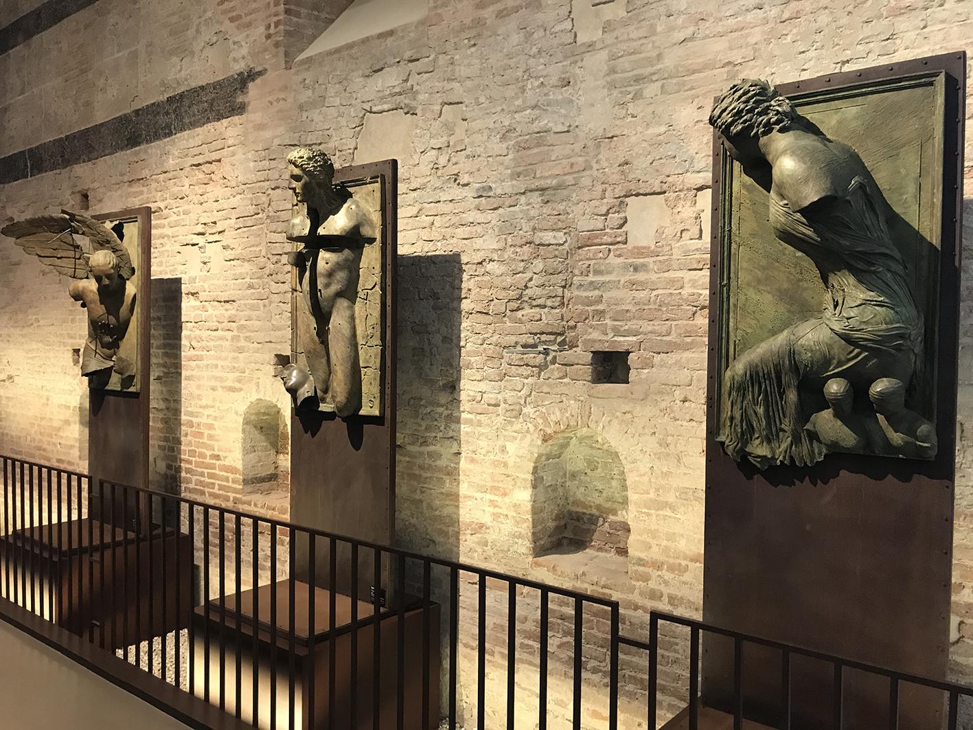 Igor Mitoraj torna a Pisa. Tre opere dello scultore al Museo delle Sinopie