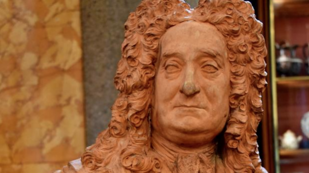 Il busto di Sir Hans Sloane