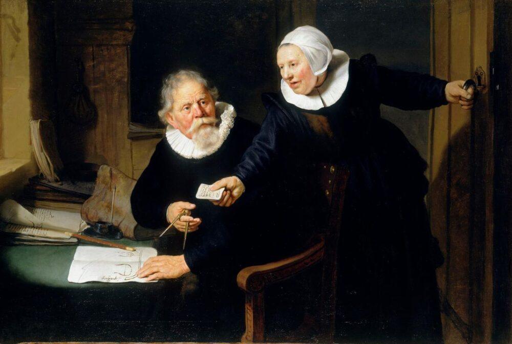 Il costruttore navale e sua moglie di Rembrandt (1633)