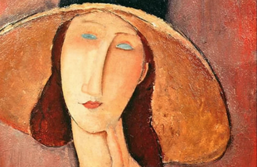 Jeanne Hébuterne ritratta da Modigliani