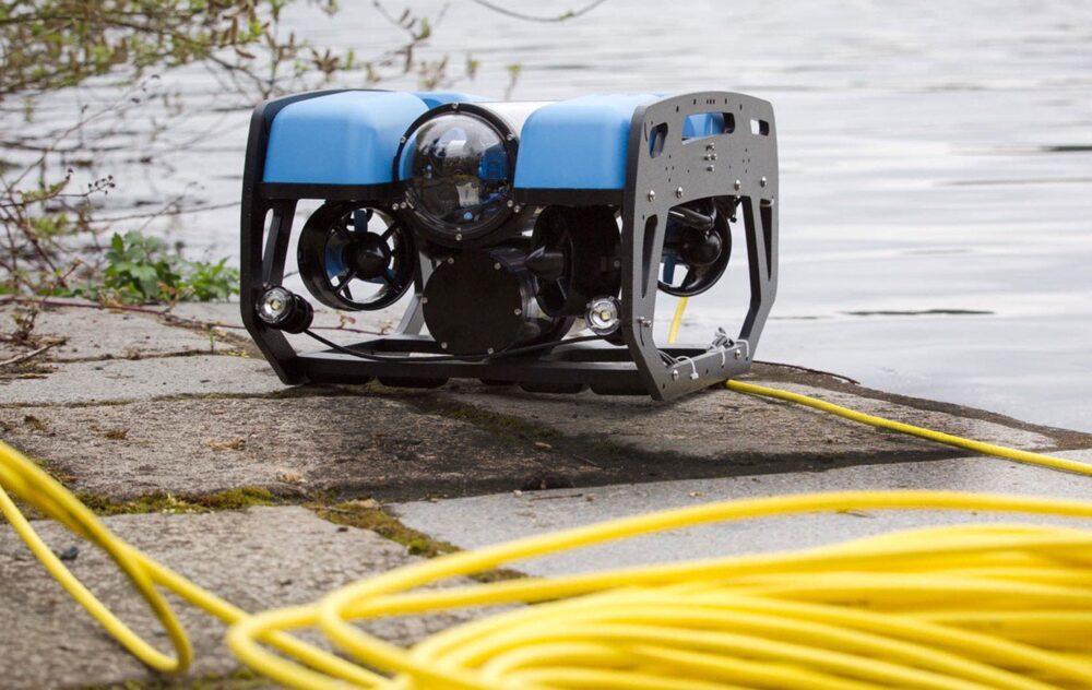 Il ROV, veicolo filoguidato per esplorazioni subacquee