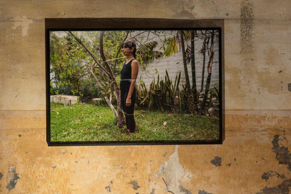 Regina José Galindo, Estaca, 2020. Courtesy of the artist and Prometeo Gallery Ida Pisani Milan-Lucca � Ph. Lucio Ghilardi