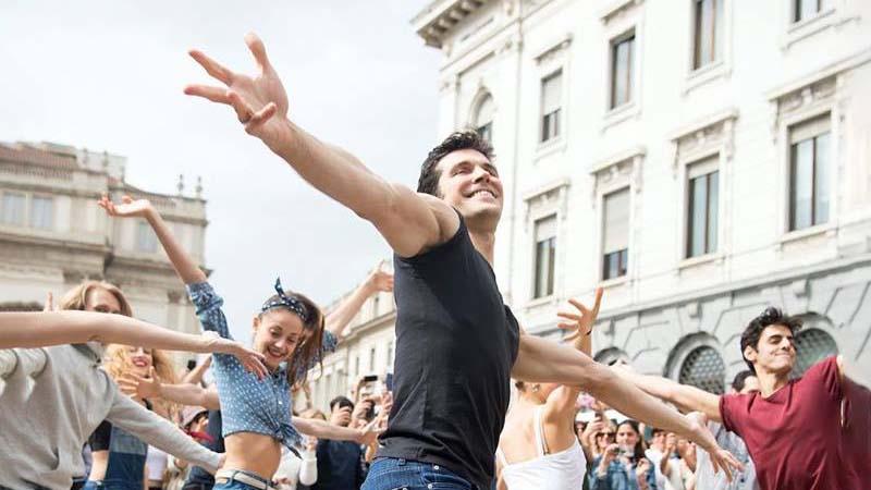Grazie a Roberto Bolle torna la danza dal vivo