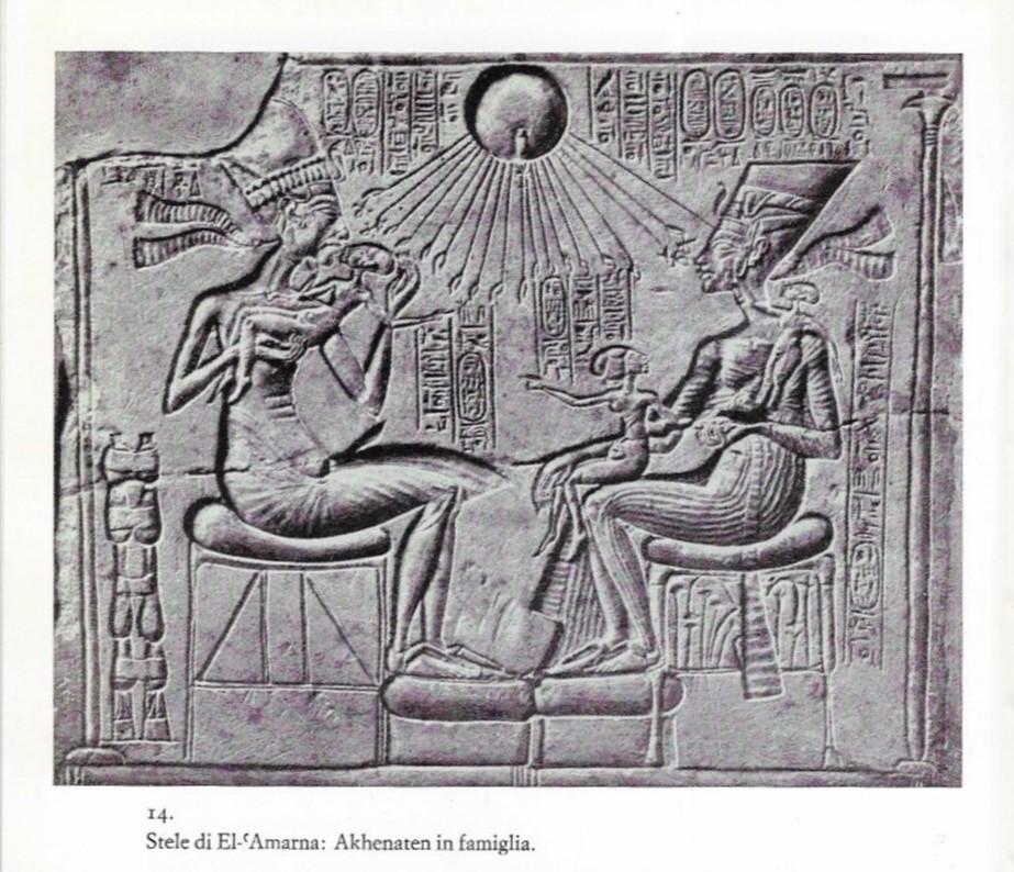 La riforma amarniana: come l'arte cambiò volto. La rivoluzione di Akhenaton