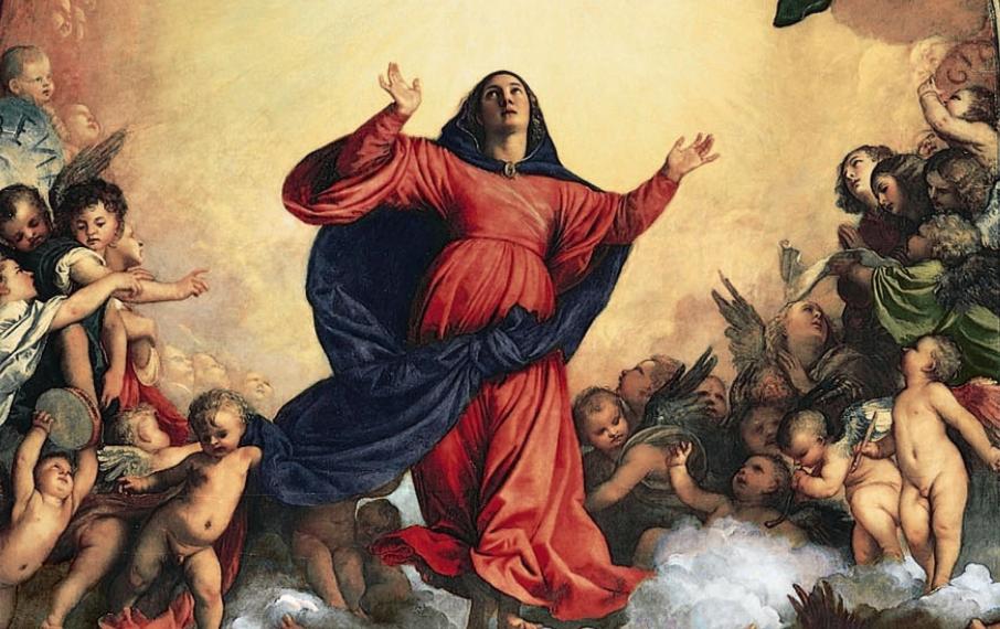 """L'""""altro Ferragosto"""". Da Tiziano a Tintoretto, quando l'arte sublima l'Assunzione di Maria"""