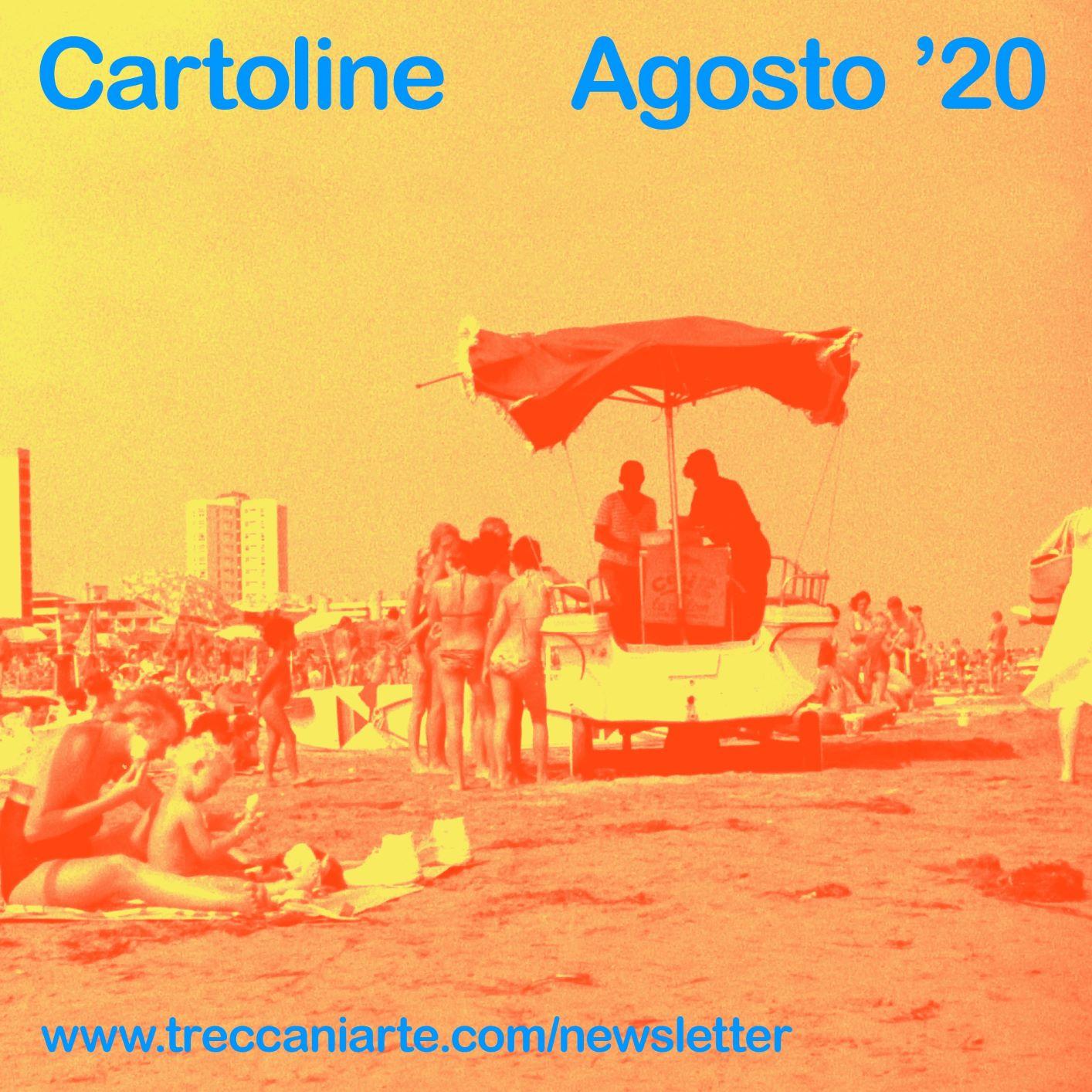 Cartoline d'artista (a sorpresa) nel nuovo progetto online di Treccani Arte. Intervista a Iacopo Ceni