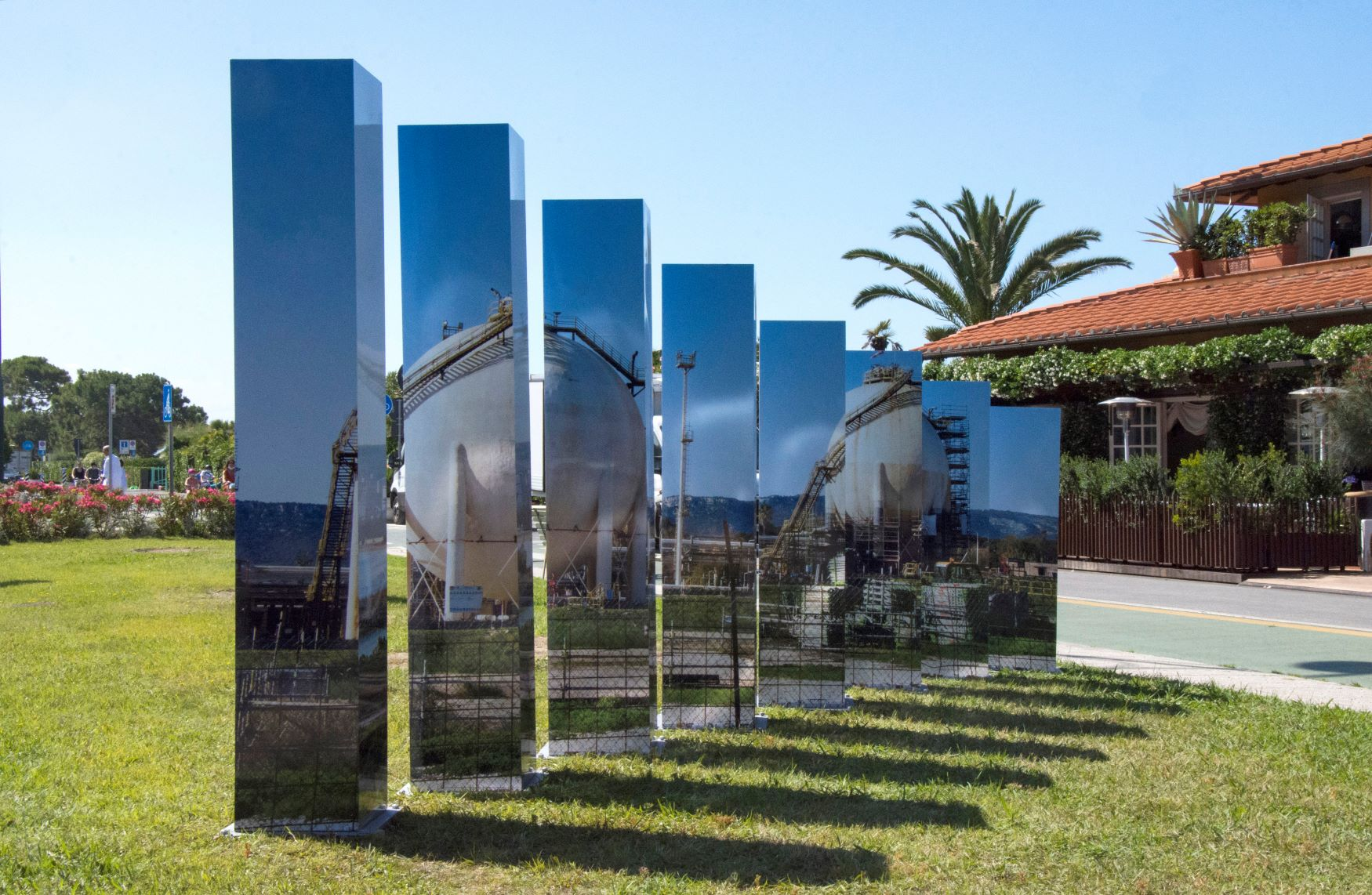 Conversations with a Changing World. Forte dei Marmi museo a cielo aperto con Giacomo Braglia, le foto
