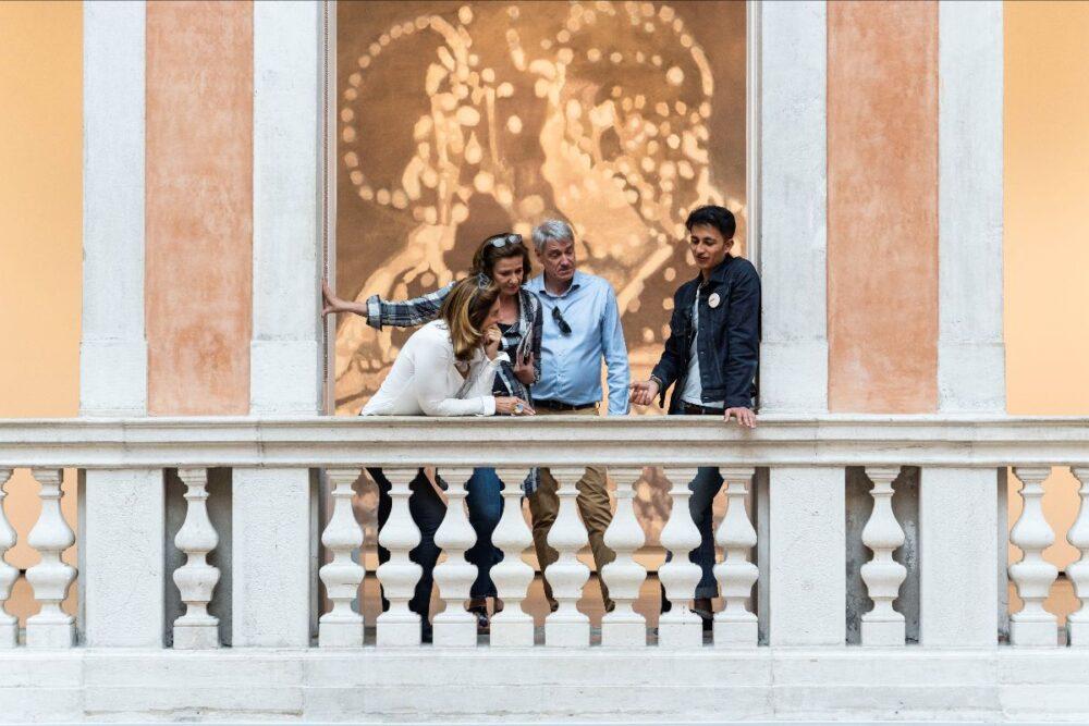 Altri Sguardi 2019 a Palazzo Grassi. ph Matteo De Fina