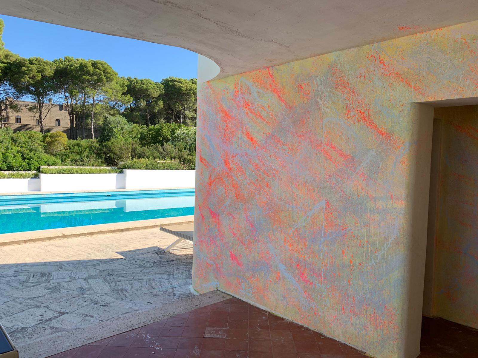 From wall to wall. Il progetto ambientale di Alberto Di Fabio che trasforma lo spazio in un canale mistico