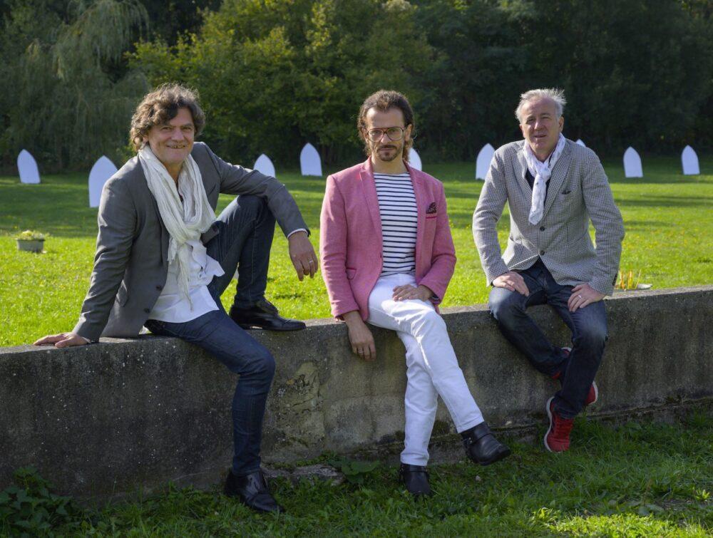 I 3 soci fondatori, da sx Mario Cristiani, Lorenzo Fiaschi, Maurizio Rigillo PhOak Taylor-Smith