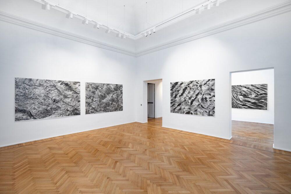 SERSE veduta della mostra 'Qui tutto è aperto. Fogli d'Acqua' GALLERIA CONTINUA, Roma, 2020 Courtesy: the artist and GALLERIA CONTINUA Ph. Giovanni De Angelis