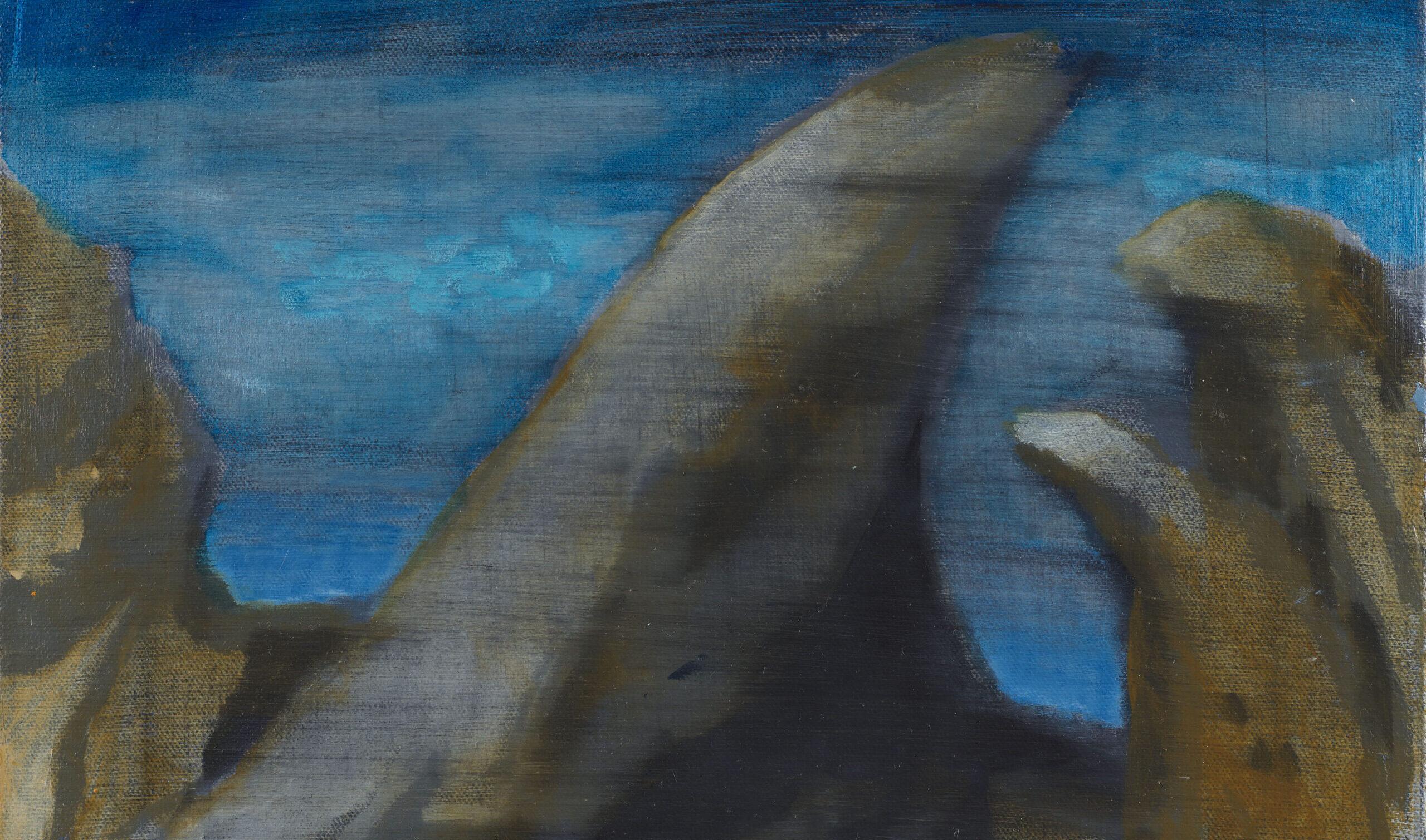Dipingere lo scorrere del tempo. Oren Eliav a Milano, una coreografia di dipinti verso l'ascesa