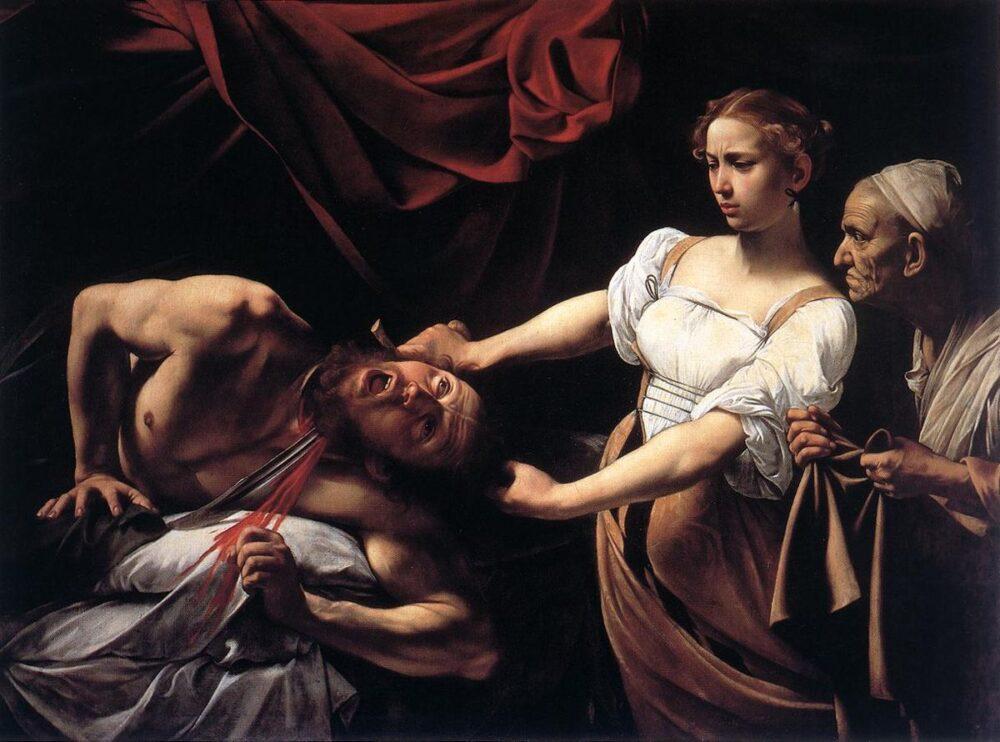 Caravaggio, Giuditta e Oloferne