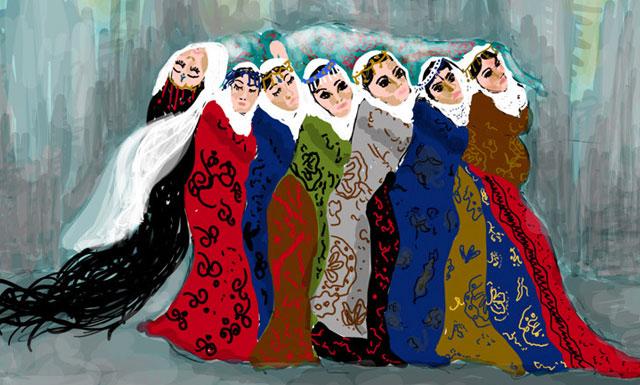 Sangue, mappe, urine. La potenza del corpo femminile (e dell'anima curda) nelle opere di Zehra Doğan, a Milano