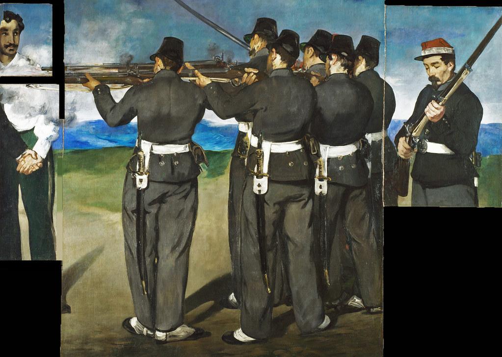 L'esecuzione di Massimiliano. Anne Robbins racconta l'opera più violenta di Manet