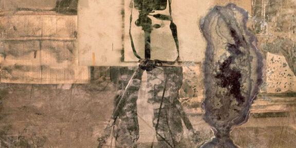 Mario Cresci fondazione Modena arti visive Mario Cresci, Autoritratto, dalla serie Attra verso la traccia, Bergamo 2010 © Mario Cresci